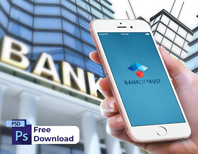 Bank Mobile App UI (Free Download Files)