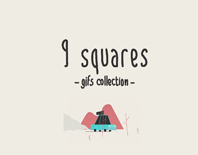 9 SQUARES - GIF COLLECTION