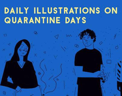 Daily Illustrations on Quarantine Days