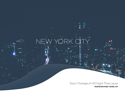 Midtown at Night HD Time Lapse - NYC [Download]