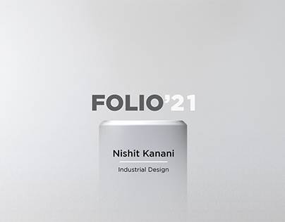INDUSTRIAL DESIGN PORTFOLIO 2021