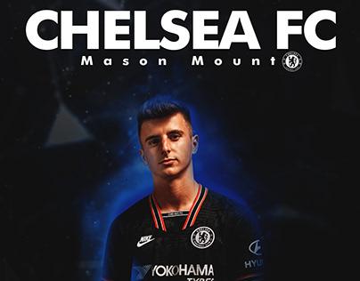 POSTER Mason Mount ( Chelsea FC ) .