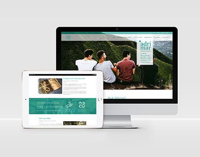 Diseño página web corporativa - ADRIMAR