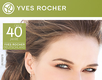 Direct Mail Advertising for Yves Rocher