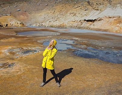 Lulu Lockhart by Rebecca Tun - Icelandic fashion