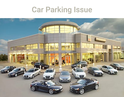 Car Parking Issue