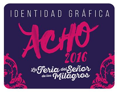 ACHO 2016 Identidad Gráfica