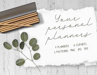 Your personal planners. Eternal calendar