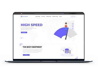 Hostinger - ui design / web