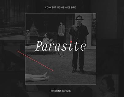 Parasite - concept website