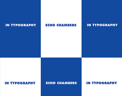 Echo chambers in typography
