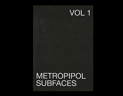 Subfaces Vol 1—Fanzine