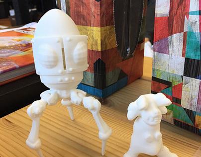 3D Printed Designer Toys