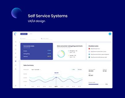 Self Service Systems-UX/UI design (Desktop\Mobile)
