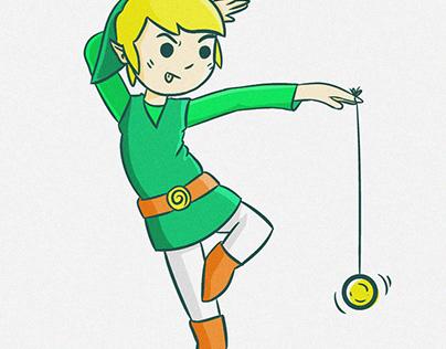 The Legend Of Zelda (Fanart)
