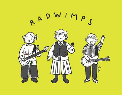 RADWIMPS Fun Fan Art