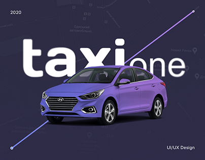 Taxi One - Worldwide aggregator of taxi services UI/UX