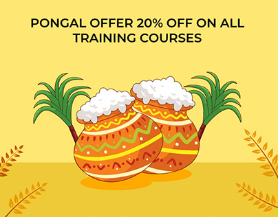 Exclusive Pongal offer on all training courses @ 20%