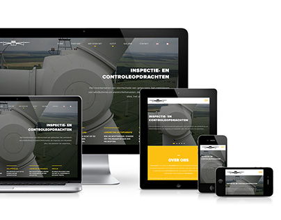 Drone Check: WordPress responsive website design