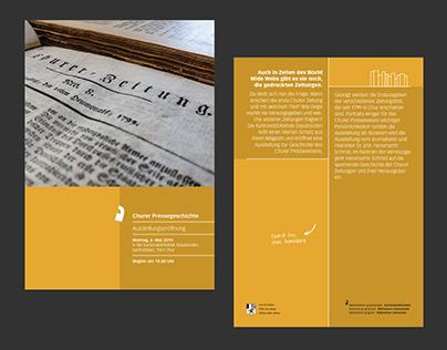 Ausstellung Pressegeschichte
