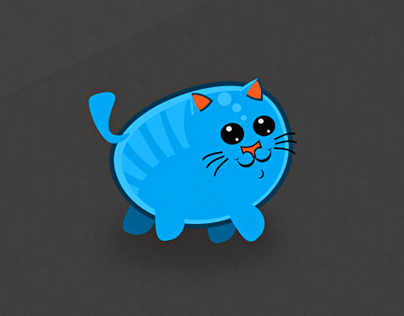 Cat game character design