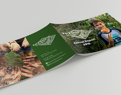 Backyard Growers Annual Report Design
