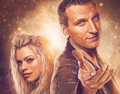 Doctor Who S1 Steelbook Digital Painting.