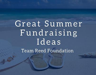 Great Summer Fundraising Ideas
