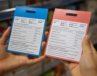 Prepaid card disclosures