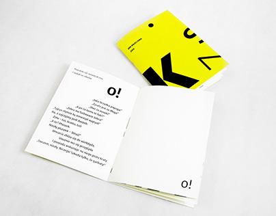 Typographical interpretation of a poem