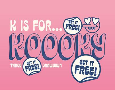 Koooky - Free Trial