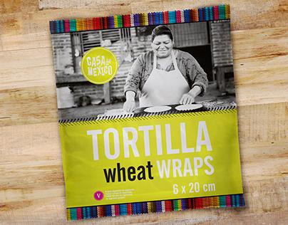 CASA DE MEXICO - Tortilla Wraps