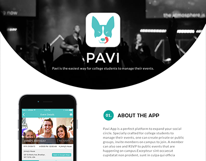 Pavi An Event Managing App