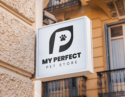 My Perfect Pet Store - Logo Design
