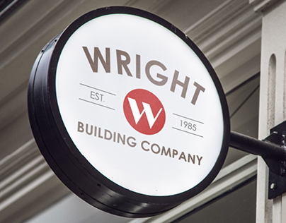 Wright Building Company Logo Concepts