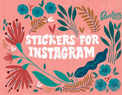Stickers for instagram