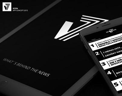SE7EN App Concept