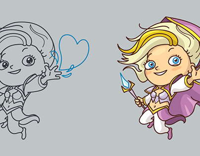 Funny Jaina for game conference. Adart©