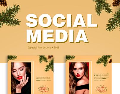 Social Media Fim de Ano | Mais Olhar