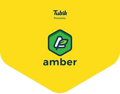 Amber logo concept