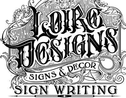 Loire Designs Hoodie screen printing