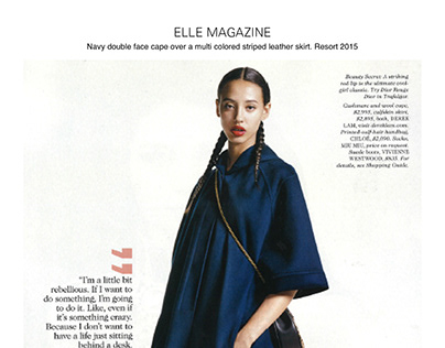 Elle Magazine Resort 2016