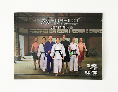 Bushido Martial Arts - product catalogue