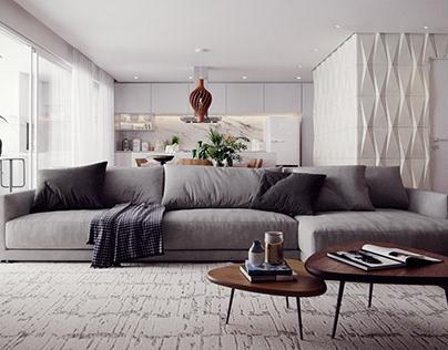 Skyscraper Living Room