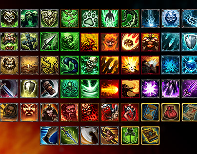 Epic RPG Icon Pack