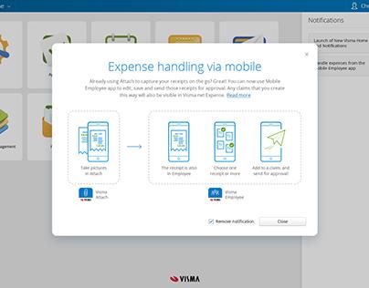 Expense handling scheme