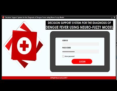 Diagnosis of Dengue Fever using Neuro-Fuzzy Model
