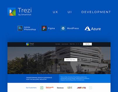 Trezi - VR Product Marketing Website