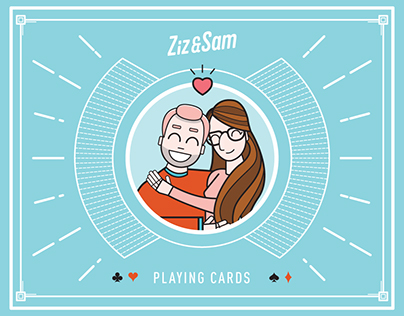 Ziz & Sam Playing Cards