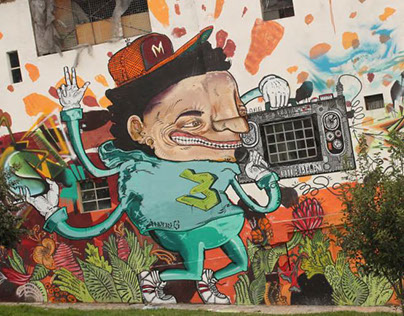festival, cerca pared. Bogotá